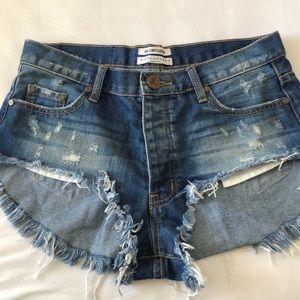 One Teaspoon Rollers Shorts